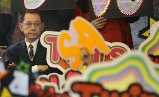 Albert Yeung, patron de Emperor Group, en 2009