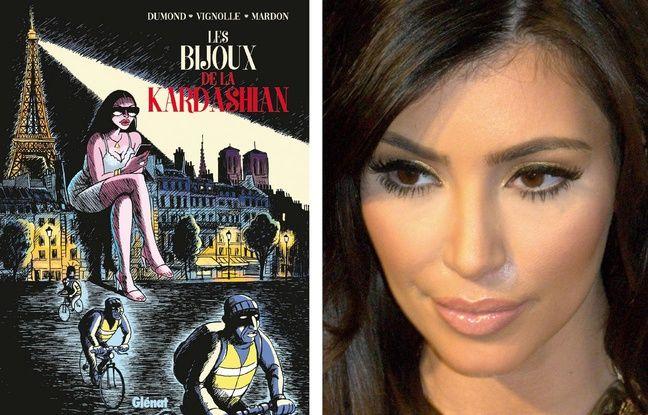 Kim Kardashian: Une BD raconte son braquage rocambolesque et «old school» à Paris