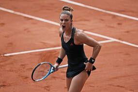 Maria Sakkari s'est qualifiée pour les demi-finales de Roland-Garros.