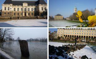 Quelques exemples d'images de neige à Rennes. On attend les vôtres !