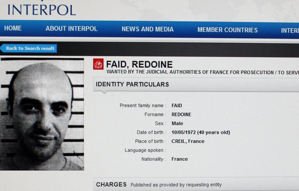 Evasion de Redoine Faïd: Le braqueur a été arrêté dans l'Oise 960x614_redoine-faid-interpol
