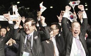 Les Sud-Coréens ont remporté le vote du CIO dès le premier tour.