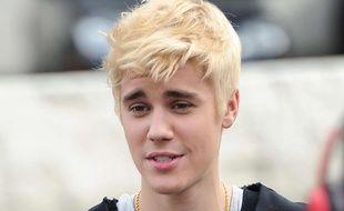 Justin Bieber, le 7 décembre 2014, à Los Angeles.