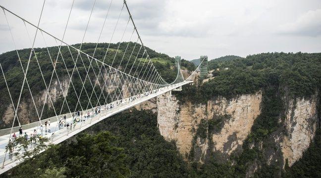 939c76ae144f7 Chine  Une blague atroce sur un pont suspendu provoque un tollé sur Internet