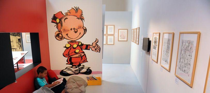 Image extraite d'une exposition consacrée à Spirou à Angoulême en 2013.