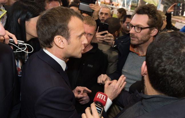 VIDEO. Salon de l'agriculture: Echange tendu entre Macron et un agriculteur sur le glyphosate