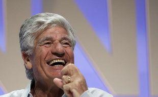 Maurice Lévy, PDG de Publicis, au festival international de la publicité à Cannes le 22 juin 2012.