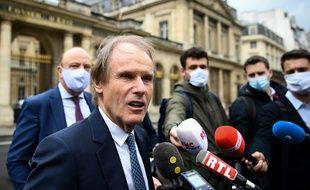 Bernard Joannin, le président d'Amiens, à sa sortie du conseil d'Etat