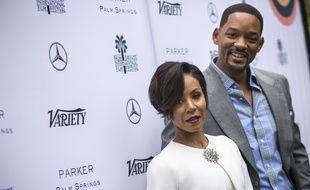 L'actrice Jada Pinkett Smith et son mari, l'acteur Will Smith.