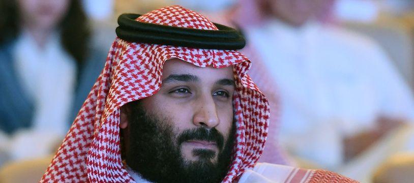 Le Prince héritier d'Arabie saoudite Mohammed ben Salmane.