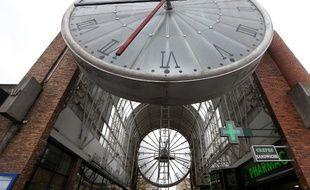 Une grosse horloge à Cergy (image d'illustration).