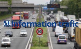 Information trafic sur la métropole lilloise.