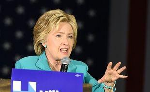 Hillary Clinton, candidate à l'investiture démocrate pour la Maison Blanche, le 24 mai 2016 à Los Angeles