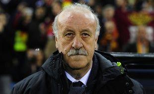 Le sélectionneur espagnol Vicente Del Bosque.