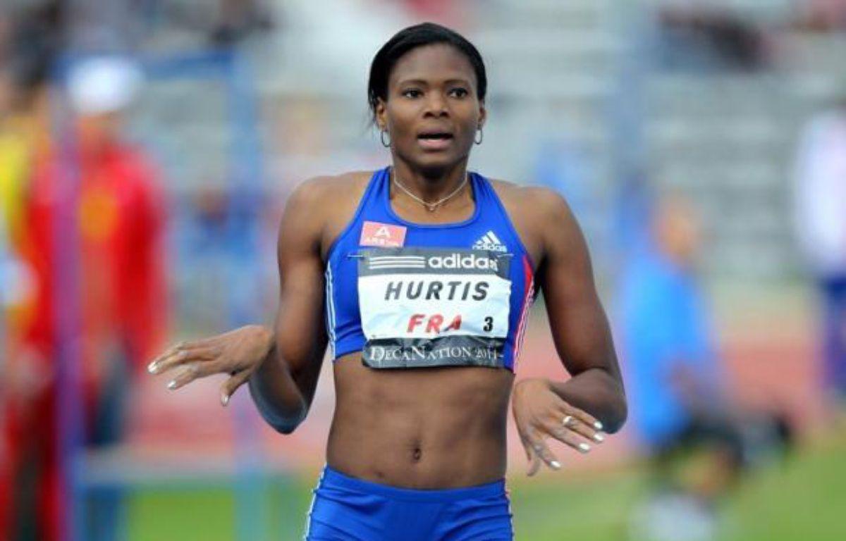 Muriel Hurtis a remporté le titre de championne de France du 400 m mais dans un chrono de 52 sec et 17/100e insuffisant pour lui assurer directement une place dans la sélection française pour les championnats d'Europe d'Helsinki, dimanche à Angers – Valéry Hache afp.com