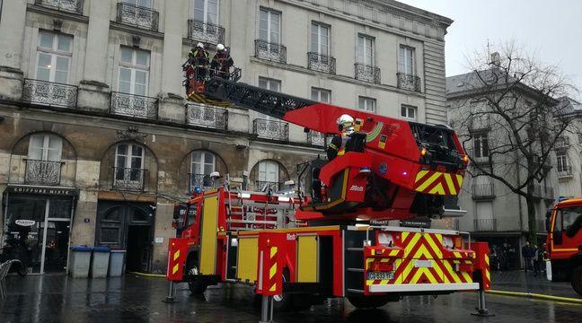 Nantes : Pourquoi les pompiers débarquent en nombre à Bouffay ce matin