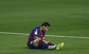 Leo Messi lors de Barça-Atlético Madrid, le 30 juin 2020.