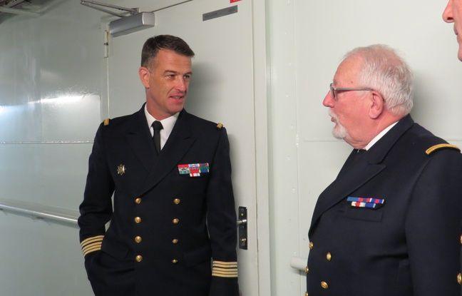 Le capitaine de vaissau Eric Lavault