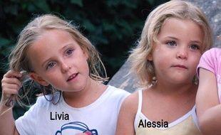 Les jumelles Livia et Alessia ont disparu le 30 janvier 2011.
