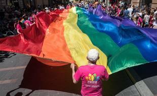 """En 2019, en plein mouvement des """"Gilets jaunes"""", la Gay Pride de Toulouse s'est passée sans incident en centre-ville."""