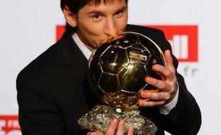 Lionel Messi, élu Ballon d'Or 2009