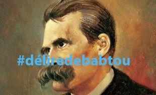 le philosophe Friedrich Nietzsche a été mêlé au succès du mot-dièse raciste #délirede babtou sur Twitter