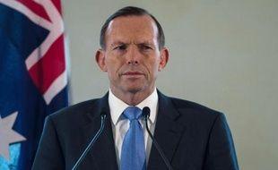 Le premier ministre australien, Tony Abbott, le 6 septembre 2014, près de Kuala Lumpur, en Indonésie