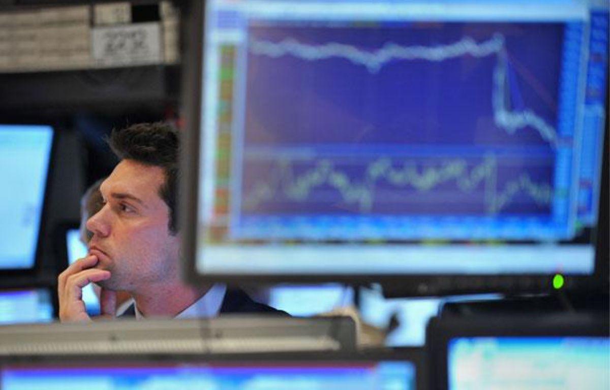 La Bourse de New York le 2 août 2011. – S. HONDA / AFP