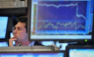 La Bourse de New York le 2 août 2011.