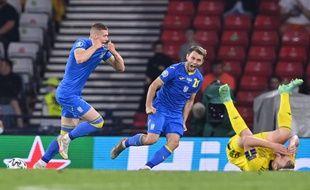 L'Ukrainien Artem Dovbik a inscrit le but de la qualification en quart de finale de l'Euro 2021 aux dépens de la Suède, ce mardi au Hampden Park de Glasgow.