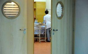 Une chambre de patient en fin de vie.