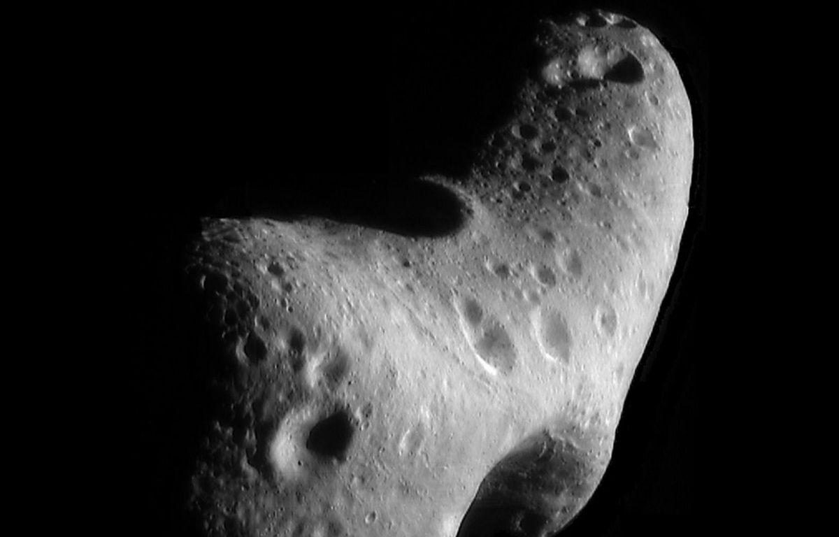 illustration astéroïde.  – HO / NASA / AFP