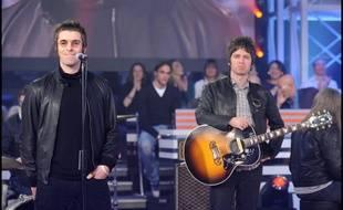 Les frères Liam et Noel, au temps d'Oasis