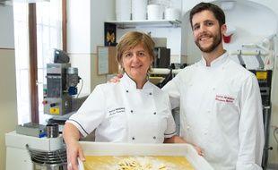 Luisa Inversi et son fils Ricardo envoient leurs pâtes fraîches par Chronopost.