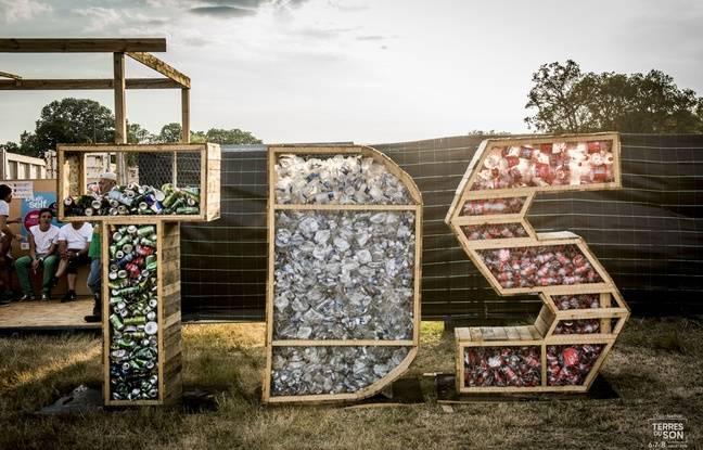 Terres du sons a réduit depuis la création de son festival, les 3/4 de ses déchets
