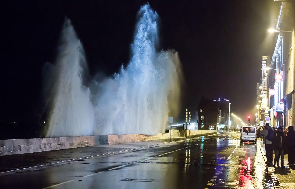 La tempête Imogen souffle à Saint-Malo, le 9 février 2016. – Jean-Marc David/SIPA