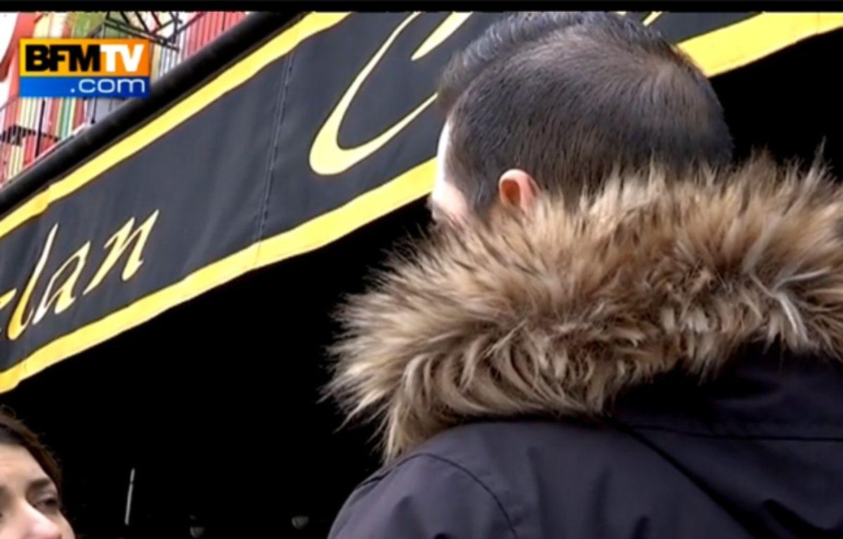Didi, le responsable de la sécurité du Bataclan. Capture d'écran de son interview à BFMTV.  – BFMTV