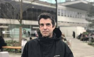Nicolas Bazille, tête de liste Lutte Ouvrière pour les municipales 2020 à Nantes