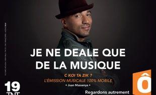 Image de la campagne de pub de France Ô en octobre 2014