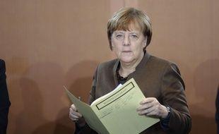 La chancelière allemande Angela Merkel, le 9 décembre 2015.