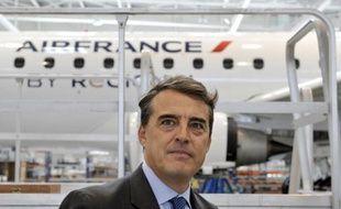 """Le PDG d'Air France estime que les personnels et les syndicats de la compagnie sont prêts à faire des efforts de productivité pour retrouver """"le meilleur niveau mondial de compétitivité""""."""