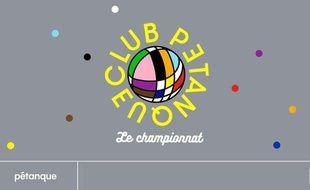 Visuel officiel du Club Pétanque de juillet à la Villette