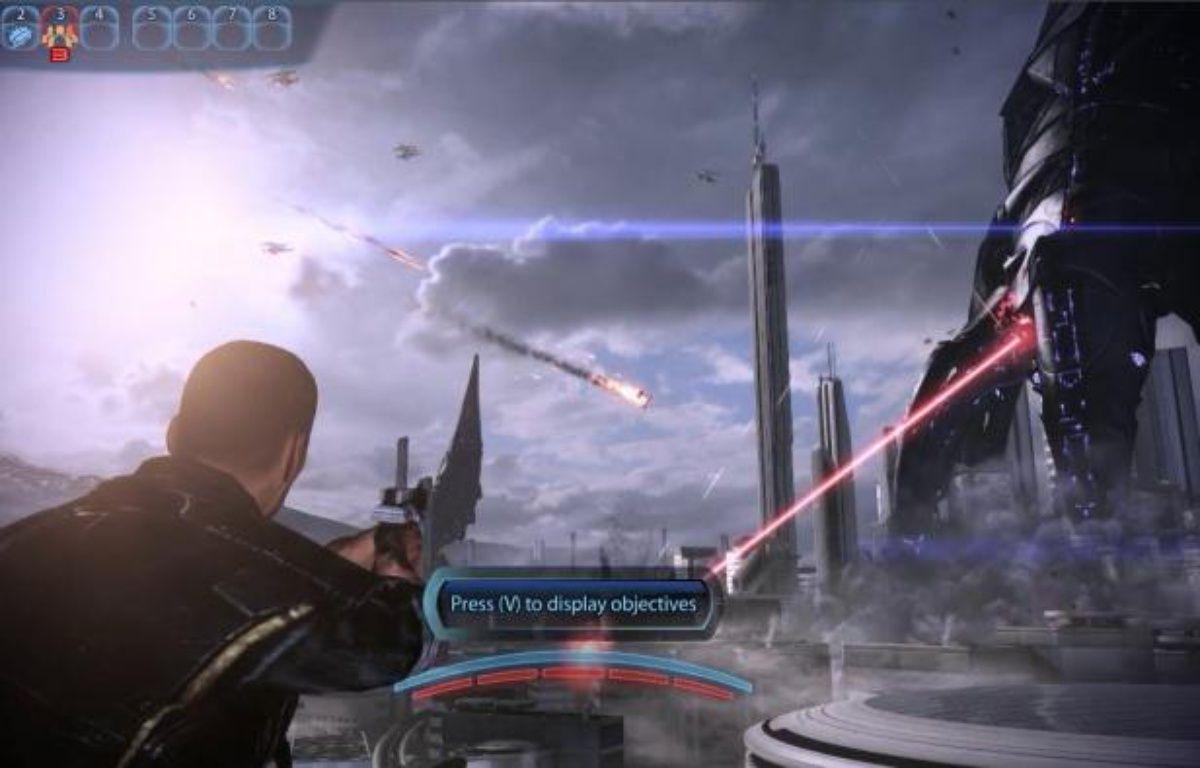 Le jeu «Mass Effect 3» proposé en démo via le service de cloud gaming de Gaikai. – DR
