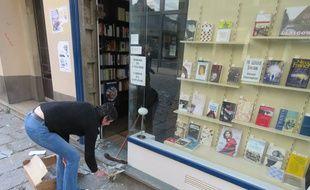 Plusieurs commerces ont eu leur vitrine brisée lors d'affrontements en marge des mobilisations contre la loi Travail.