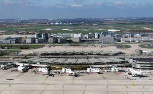 Vue de l'aéroport Roissy Charles De Gaulle, le 5 avril 2016.