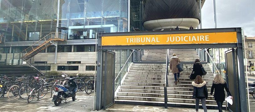 Le tribunal de Bordeaux, en février 2020.