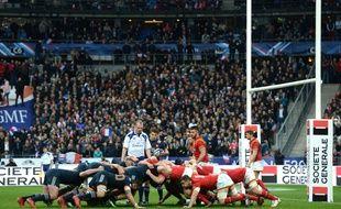 La dernière mêlée entre la France et le pays de Galles