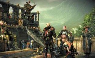 Une scène extraite de «The Witcher 2: Assassins of Kings Enhanced Edition» sur Xbox 360.
