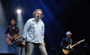 Le chanteur Antoine à l'Olympia en novembre 2012.