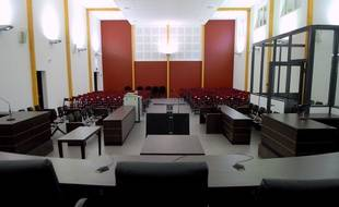 La grande salle d'assises de l'annexe du palais de justice de Strasbourg, place d'Islande. (Archives)